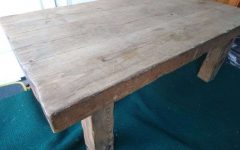 Oak Sleeper Coffee Tables