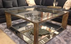 Vintage Mirror Coffee Tables
