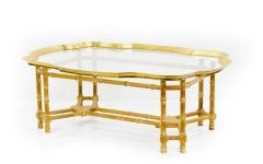 Gold Bamboo Coffee Tables