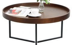 Round Coffee Table Trays