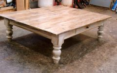Large Low Rustic Coffee Tables