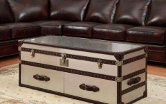 Stainless Steel Trunk Coffee Tables