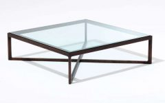 Metal Square Coffee Tables