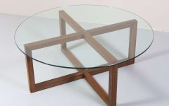 Glass Circle Coffee Tables