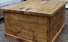 Wooden Trunks Coffee Tables