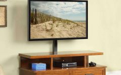 Wood Tv Stands With Swivel Mount