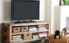 Wooden Tv Stands with Wheels
