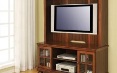 Oak Tv Cabinets For Flat Screens With Doors