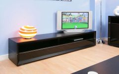 Long Black Tv Stands
