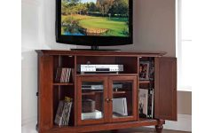 Mahogany Corner Tv Stands