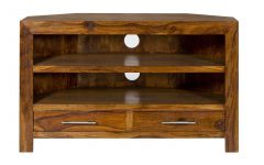 Real Wood Corner Tv Stands
