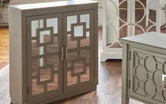Mirrored Double Door Buffets