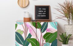 Colorful Leaves Credenzas