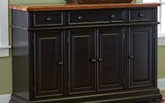 Black Dining Room Sideboards