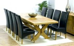 Dining Tables And 8 Chairs Sets
