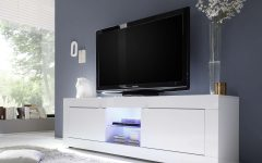 White Gloss Tv Stands