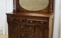 Antique Sideboards With Mirror