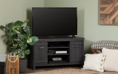 """Farmhouse Tv Stands for 75"""" Flat Screen with Console Table Storage Cabinet"""