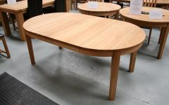 Round Dining Tables Extends To Oval
