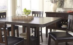Counter Height Extendable Dining Tables