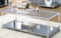Thalberg Contemporary Chrome Coffee Tables by Foa