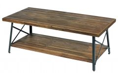 Carbon Loft Oliver Modern Rustic Natural Fir Coffee Tables
