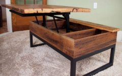 Coffee Tables with Lift Top Storage