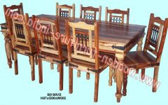 Indian Wood Dining Tables