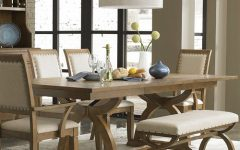 Palazzo 7 Piece Rectangle Dining Sets with Joss Side Chairs