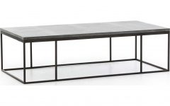 Bluestone Rustic Black Coffee Tables