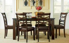 Market 7 Piece Dining Sets with Side Chairs