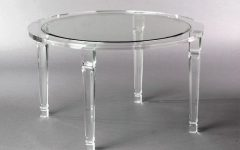 Round Acrylic Dining Tables