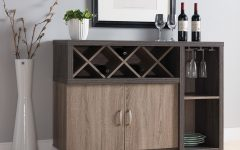 Contemporary Distressed Grey Buffets