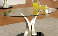 Velma Modern Satin Plated Coffee Tables