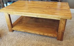 Natural Pine Coffee Tables
