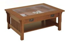 Glass Top Storage Coffee Tables