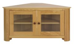 Corner Tv Cabinets With Glass Doors