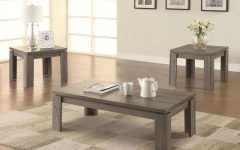 Grey Wood Coffee Tables