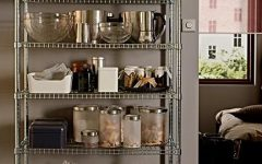 Metal Kitchen Pantry