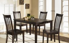 Hyland 5 Piece Counter Sets With Bench