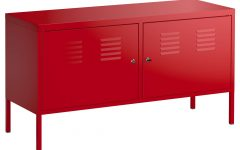 Ikea Red Sideboards