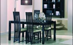 Black High Gloss Dining Chairs