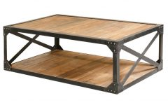 Metal And Wood Coffee Tables