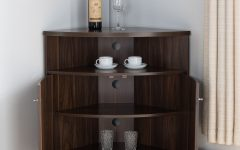 3-shelf Corner Buffets