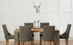 Dining Tables Grey Chairs