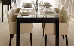 Cream Lacquer Dining Tables