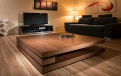 Large Square Low Coffee Tables