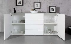 Large White Sideboards