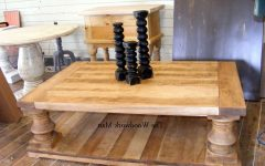 Chunky Rustic Coffee Tables