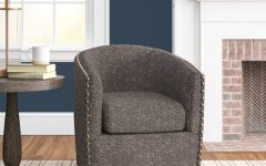 Danow Polyester Barrel Chairs
